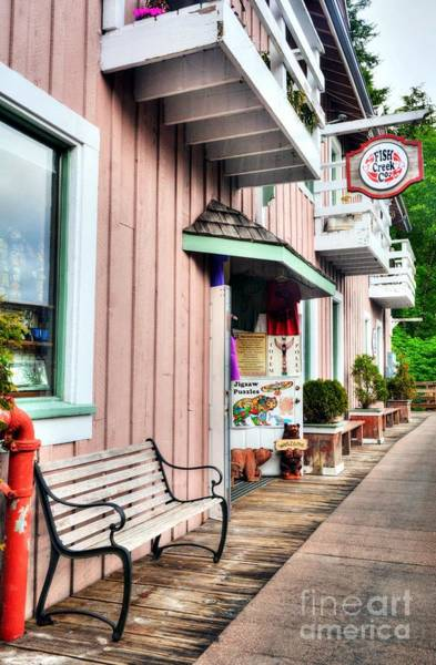 Photograph - Creek Street In Ketchikan 3 by Mel Steinhauer