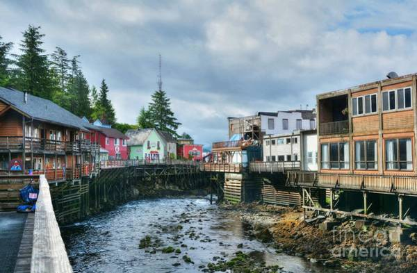 Photograph - Creek Street In Ketchikan 4 by Mel Steinhauer