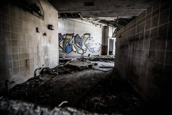 Photograph - Creepy Hallway by Mike Dunn