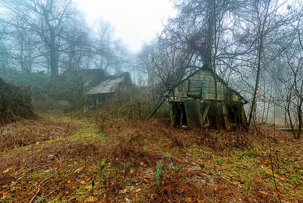 Photograph - Creepy House by Enrico Pelos