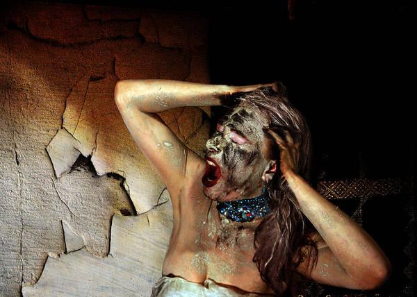Wall Art - Photograph - Creepy Scream by The Hybryds