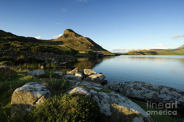 Photograph - Cregennen Lake Snowdonia National Park North Wales by Keith Morris