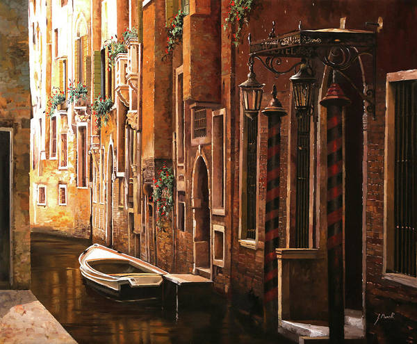 Wall Art - Painting - Crema Veneziana by Guido Borelli