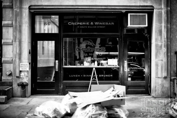 Photograph - Crepes Dunord New York City by John Rizzuto