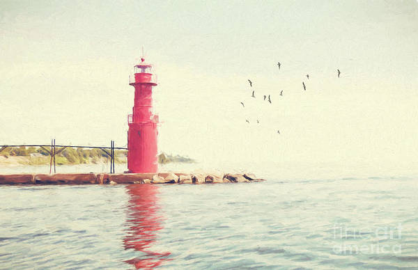 Photograph - Crescent Beach Lighthouse by Pam  Holdsworth