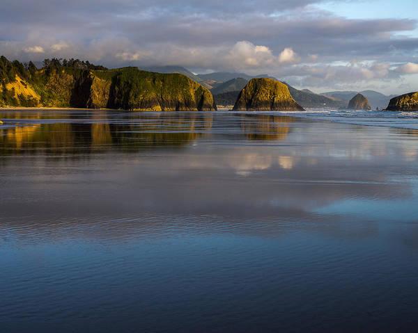 Photograph - Crescent Beach Reflections by Robert Potts