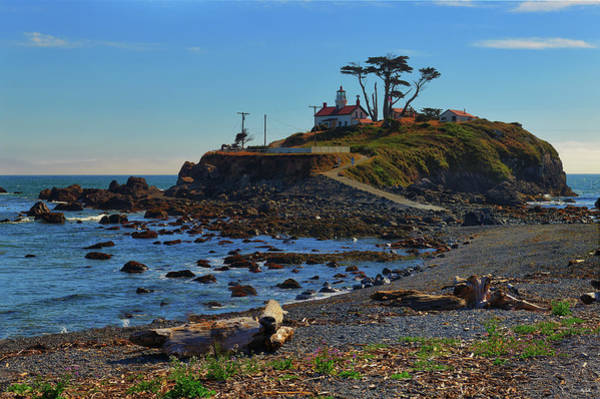 Photograph - Crescent City Battery Point Lighthouse by Greg Norrell