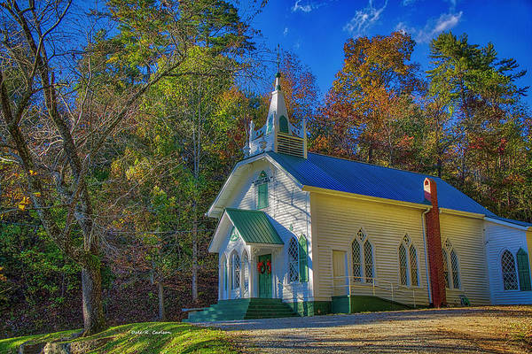 Photograph - Crescent Hill Church by Dale R Carlson