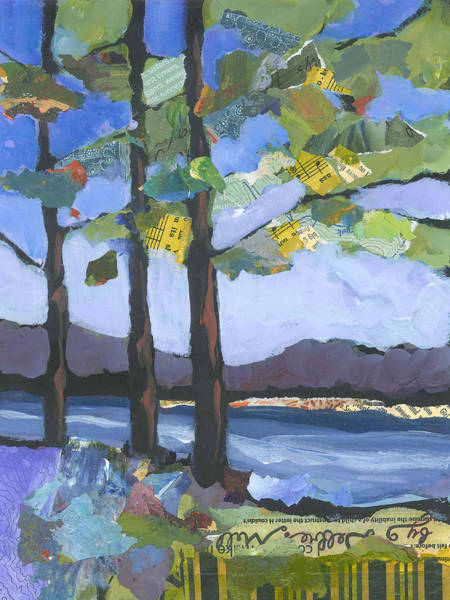Painting - Crescent Lake by Shelli Walters