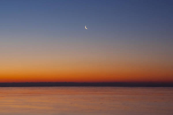 Photograph - Crescent Moon Dawn Closer by Sven Brogren
