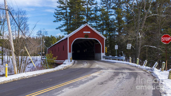 Photograph - Cresson Covered Bridge. by New England Photography