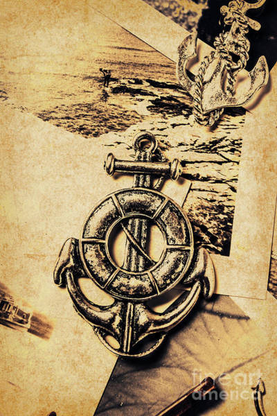 Naval Wall Art - Photograph - Crest Of Oceanic Adventure by Jorgo Photography - Wall Art Gallery