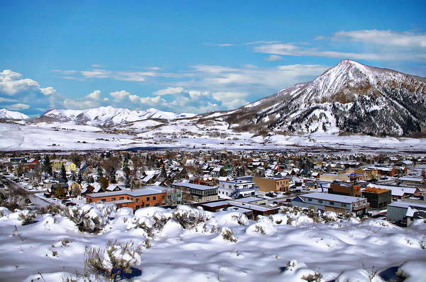 Crested Butte Panorama Art Print