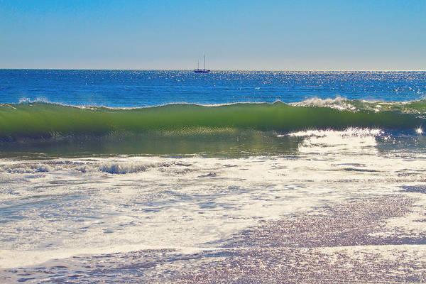 Photograph - Cresting Wave by Bonnie Follett