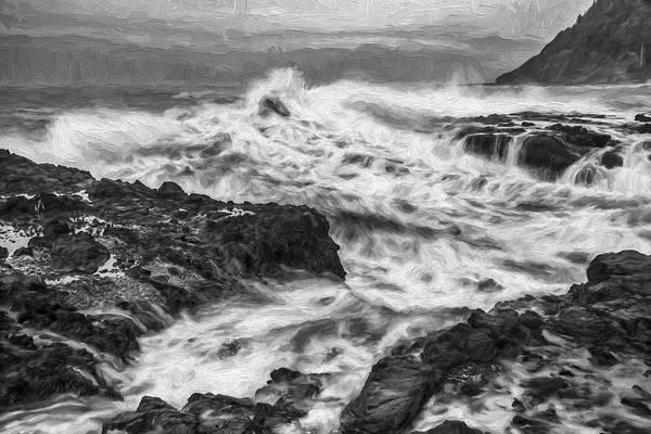 Digital Art - Cresting Wave II by Jon Glaser