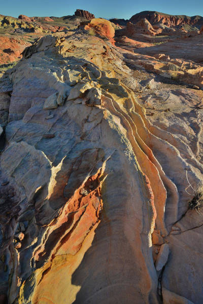 Photograph - Crests Of Sandstone In Valley Of Fire by Ray Mathis