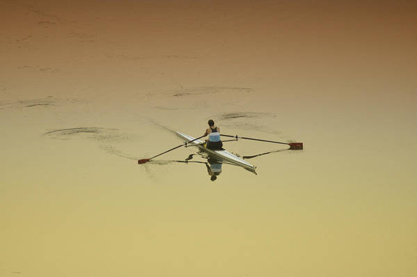 Rowing Wall Art - Photograph - Crew by Bill Cannon