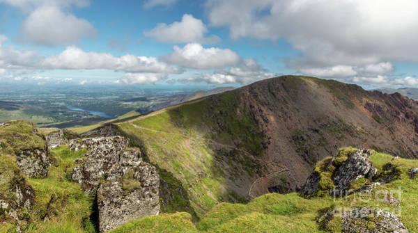 Wall Art - Photograph - Crib Goch Mountain by Adrian Evans
