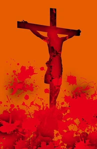 Digital Art - Cricifixion.1 by Alberto RuiZ