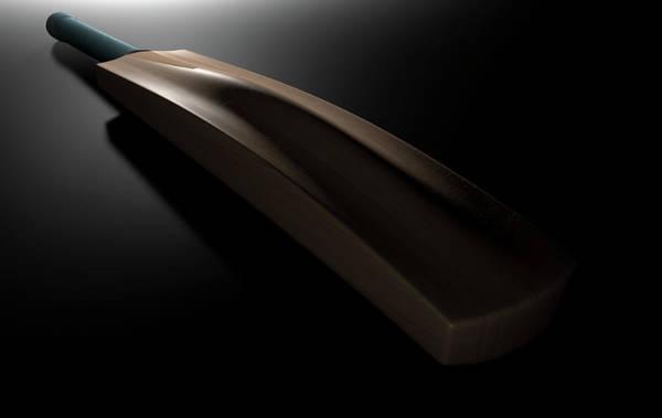 Paddle Digital Art - Cricket Bat Dark by Allan Swart