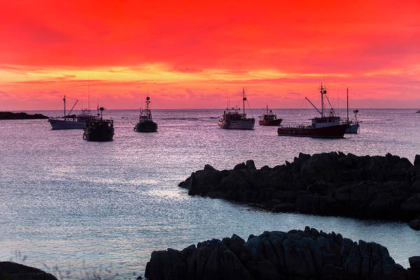 Wall Art - Photograph - Crimson Fleet by Sean Davey