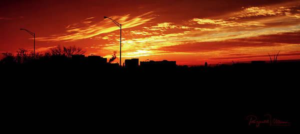 Photograph - Crimson Sky Over Northern Virginia by Reynaldo Williams