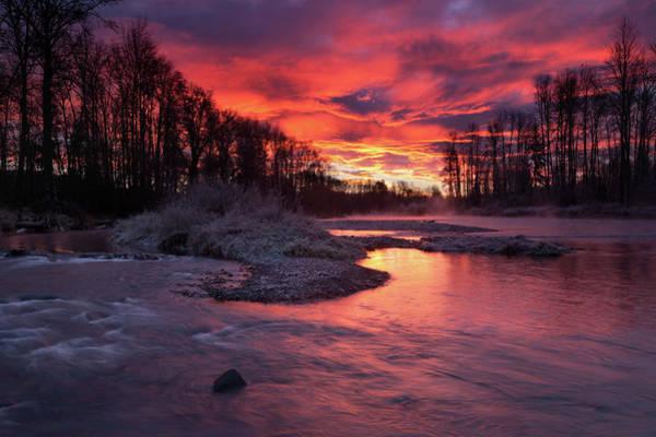 Photograph - Sage Island Sunrise by Andrew Kumler