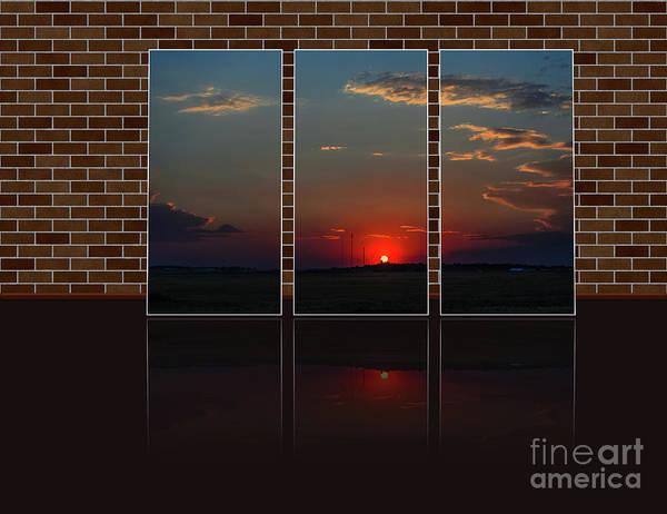 Wall Art - Photograph - Crimson Sunset In The Triple  by Viktor Birkus