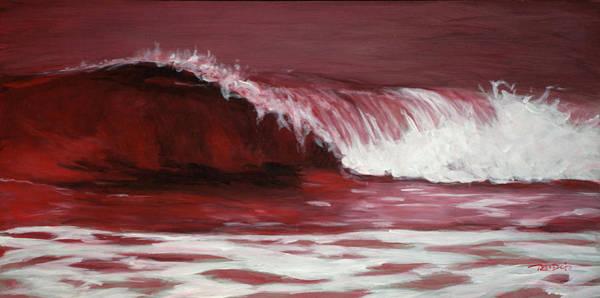 Painting - Crimson Tide by Christopher Reid