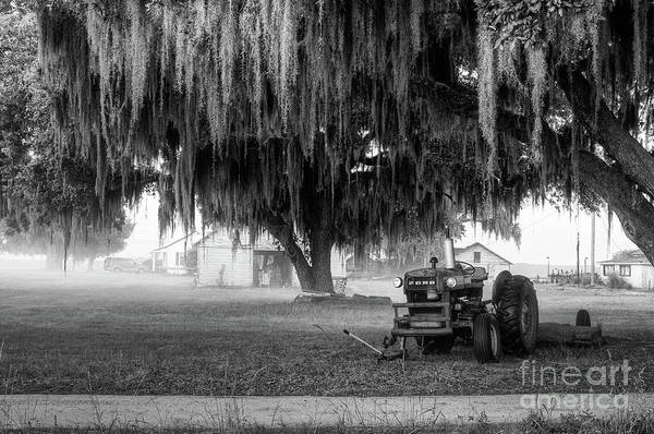 Photograph - Crippled Tractor by Scott Hansen