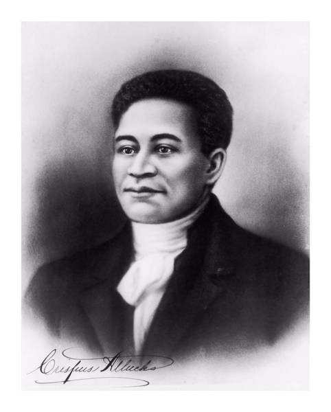 Digital Art - Crispus Attucks by John Feiser