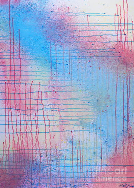 Painting - Criss-cross by Walt Brodis
