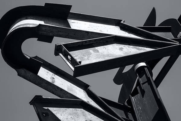 Photograph - Crissy Field Iron Scuplture by Michael Hope