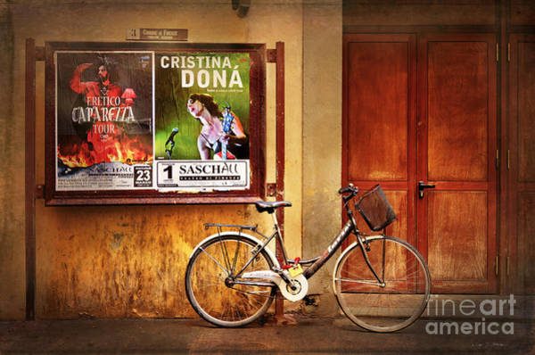 Photograph - Cristaina Holland Bicycle by Craig J Satterlee