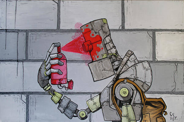 Wall Art - Painting - Critical Malfunction by Chase Fleischman