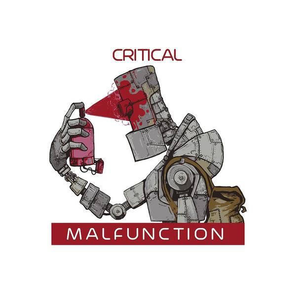 Wall Art - Digital Art - Critical Malfunction V2 by Chase Fleischman