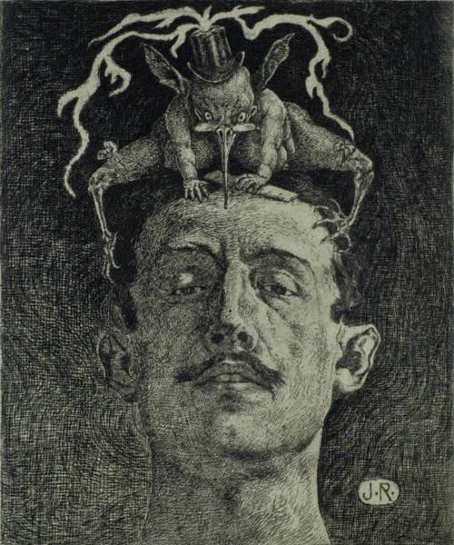 Drawing - Criticism by Julio Ruelas