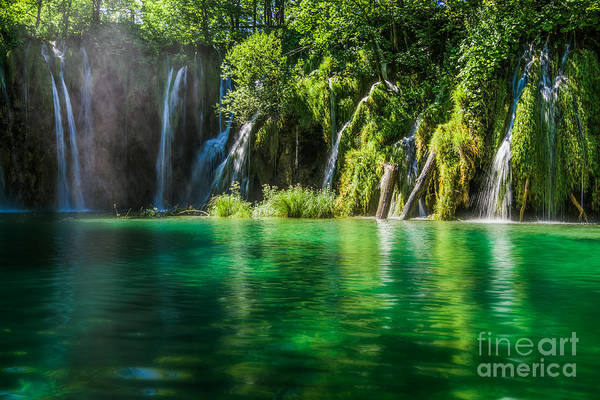 Photograph - Croatia Fairy Tales II by Hannes Cmarits