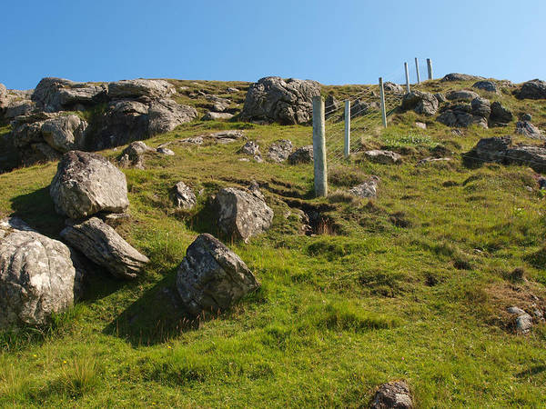 Crofting Photograph - Crofters Fence by Michaela Perryman