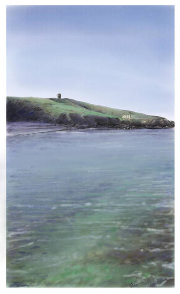 Donegal Digital Art - Crohy Head, Maghery by Kevin Gallagher
