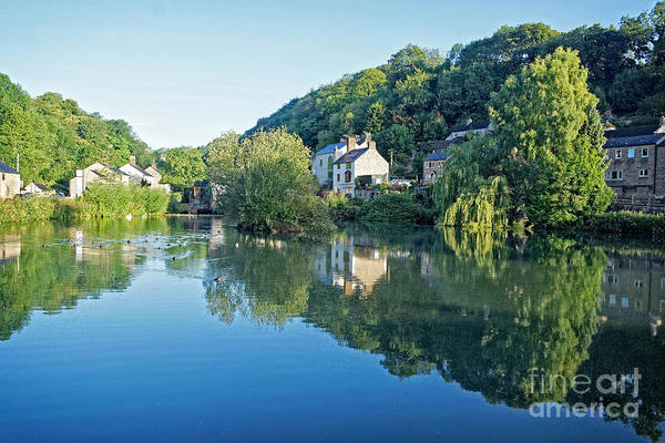 Photograph - Cromford Millpond, Derbyshire, U.k by David Birchall