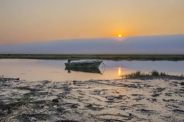 Jetti Wall Art - Photograph - Crooked Creek - Stone Harbor New Jersey by Bill Cannon