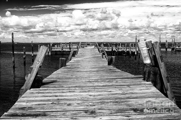 Photograph - Crooked Dock by John Rizzuto