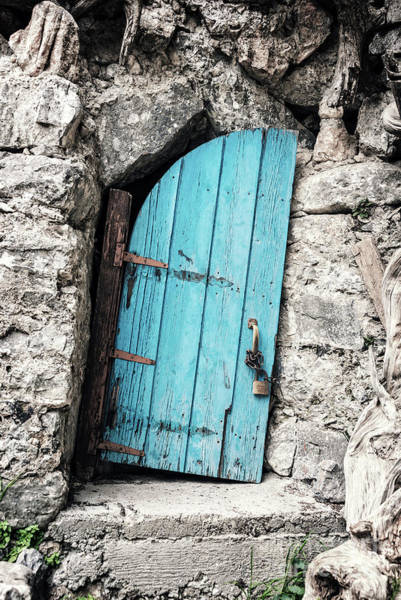 Wall Art - Painting - Crooked Door by Delphimages Photo Creations