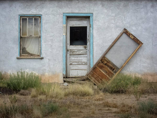 Photograph - Crooked Screen Door by Mary Lee Dereske