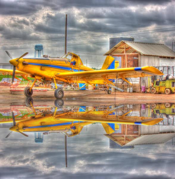 Photograph - Crop Duster 001 by Barry Jones
