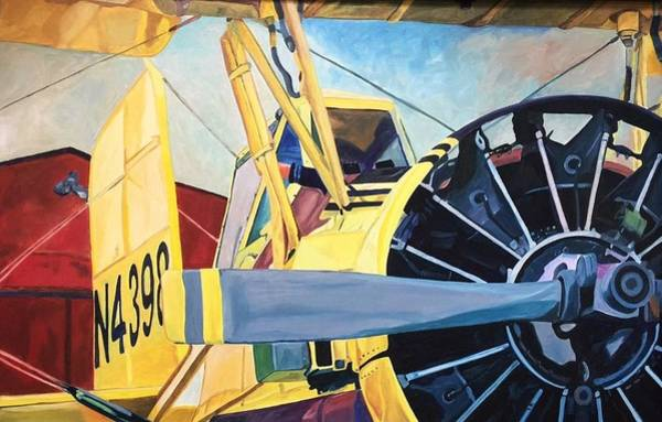Painting - Crop Duster 93 by Steven Ward