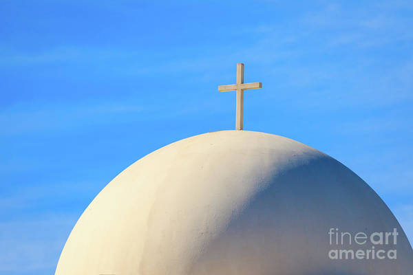 Photograph - Cross And Dome #1 by Richard Smith