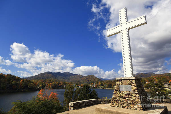 Photograph - Cross At Lake Junaluska by Jill Lang