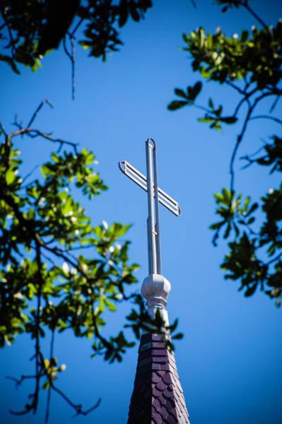 Photograph - Cross by Chris Coffee